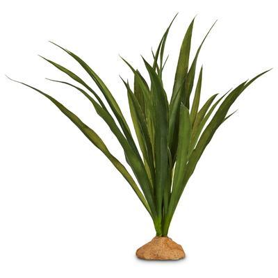 """Imagitarium Orchid Grass Terrarium Plant, 9"""" L X 13"""" H, Large, Green"""