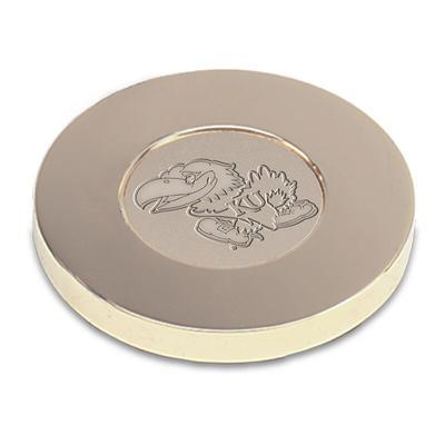 Kansas Jayhawks Paperweight - Gold