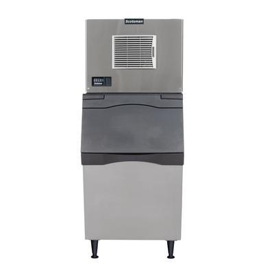 Scotsman C0330SA-1/B530P 400 lb Half Cube Ice Maker w/ Bin - 536 lb Storage, Air Cooled, 115v