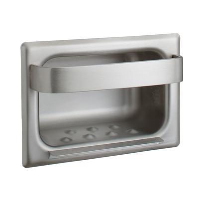 Bobrick - Bobrick B-4390 Recessed Heavy Duty Soap Dish with Bar