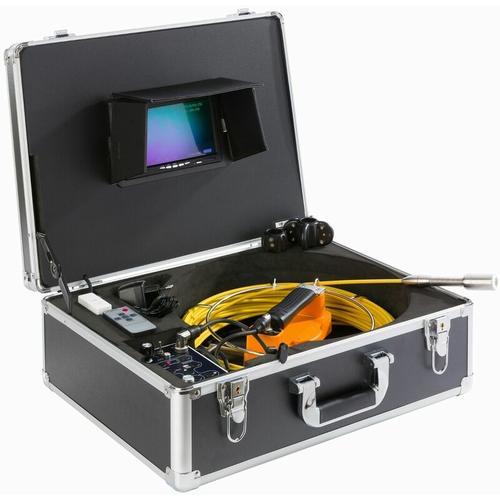 Rohrkamera 30 m - Kanalkamera Inspektionskamera - negro - Arebos