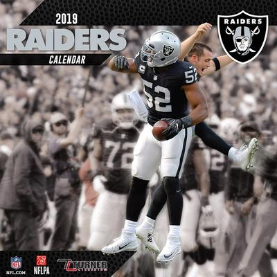 Las Vegas Raiders 2019 Mini Wall Calendar