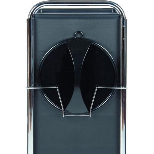 Efalock Spiegelhalter schwarzmatt Friseurzubehör