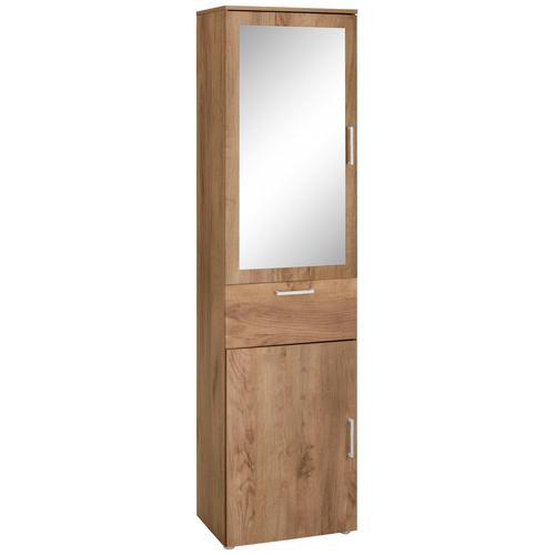 Paroli Garderobenschrank Susa, mit Spiegel goldfarben Garderobenschränke Garderoben