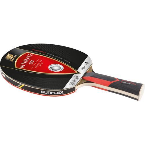 Sunflex Tischtennisschläger Ultimate C55 rot Tischtennis-Ausrüstung Tischtennis Sportarten