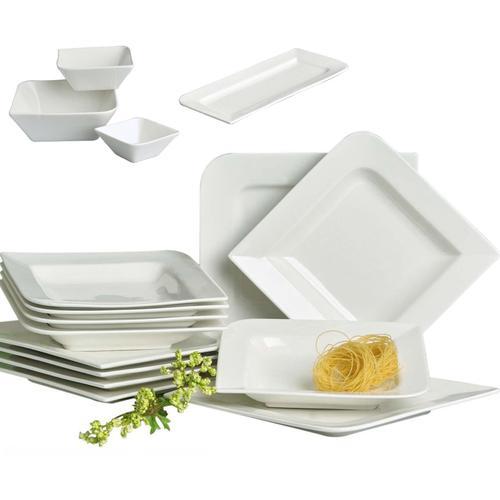 Retsch Arzberg Tafelservice Fantastic, (16 tlg.) beige Geschirr-Sets Geschirr, Porzellan Tischaccessoires Haushaltswaren