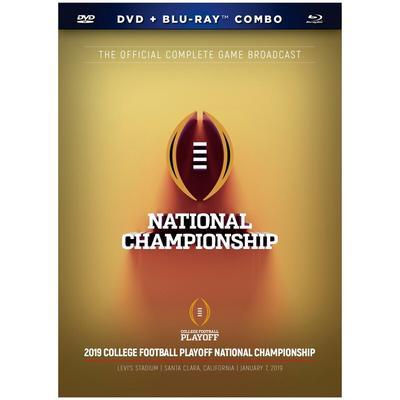 Clemson Tigers College Football Playoff 2018 National Champions DVD & Blu-Ray Set