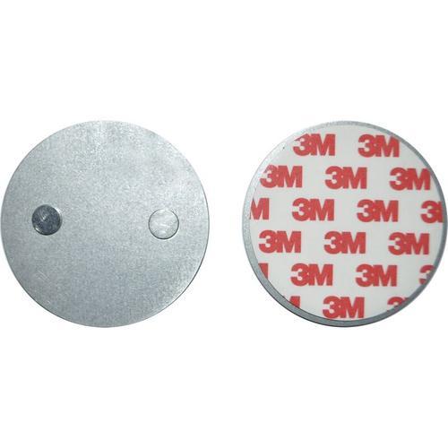 10er Set Mini Design Rauchmelder GS535 weiß mit 3M-Magnetklebebepad (Magnetbefestigung) 10 Jahres