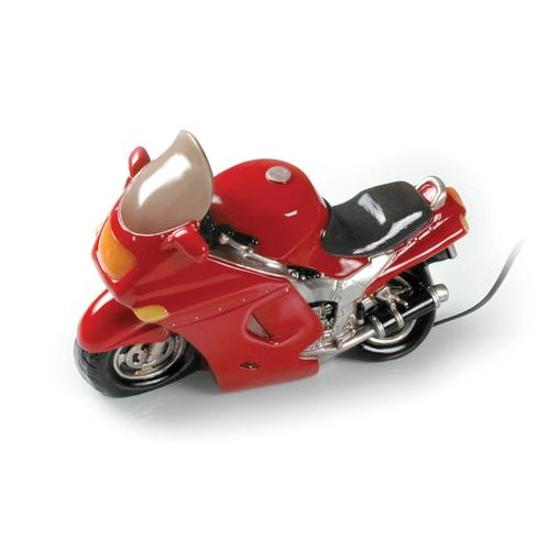 Booster Tischlampe Motorrad, rot