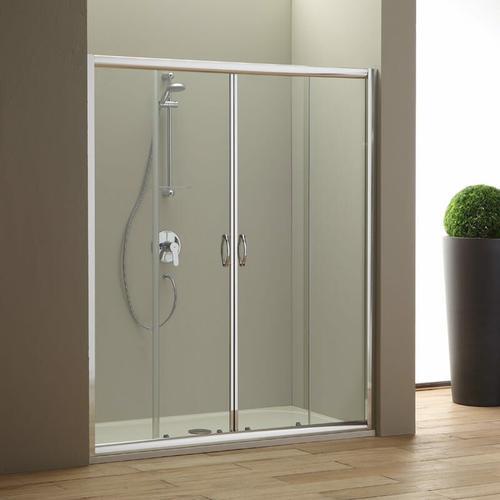Duschtür Für Nische 160 Cm Modell Giada Aus Transparentem Kristallglas