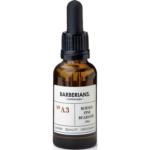 Barberians Grooming Burned Pine Beard Oil 30 ml Bartöl