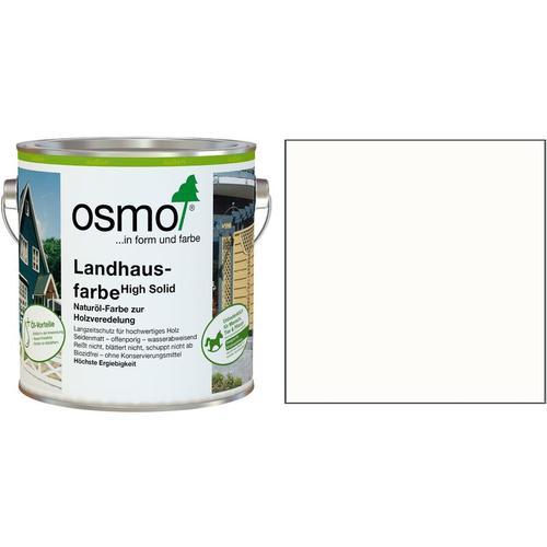 Osmo Landhausfarbe 2,5 Liter weiß (2101)