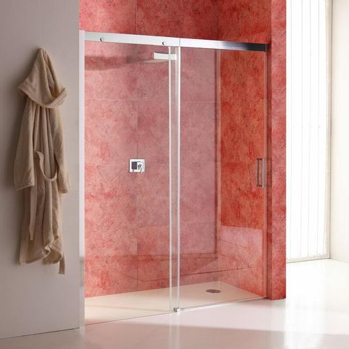 Duschtür Für Nische 130 Cm Modell Dream Mit Festem Element Links Aus Transparentem Kristallglas