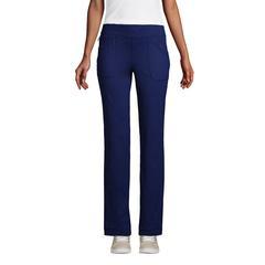 Women's Active 5 Pocket Pants - Lands' End - Blue - XS