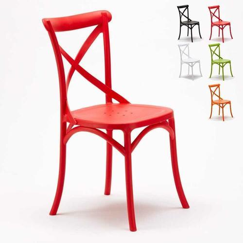 Stühle Küchenstuhl Esstischstuhl Esszimmerstuhl Vintage   Rot