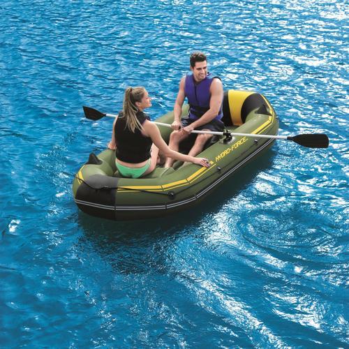 Bestway Hydro-Force Schlauchboot Marine Pro mit Handpumpe 65096