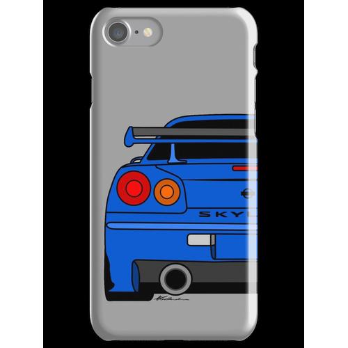 R34 Rear iPhone 7 Snap Case