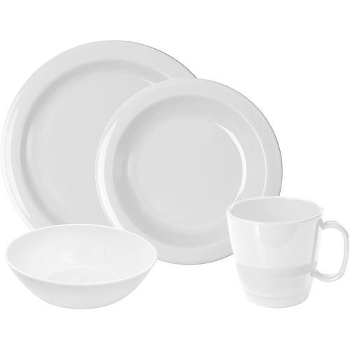 WACA Frühstücks-Geschirrset, (Set, 8 tlg.) weiß Frühstücks-Geschirrset Frühstücksset Eierbecher Geschirr, Porzellan Tischaccessoires Haushaltswaren