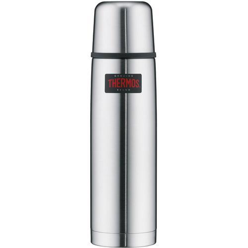 THERMOS Isolierkanne Light & Compact, 0,75 l, (1), aus bruchfestem Edelstahl silberfarben Kannen Geschirr, Porzellan Tischaccessoires Haushaltswaren