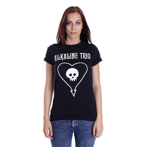 Alkaline Trio - Classic Heartskull - - T-Shirts