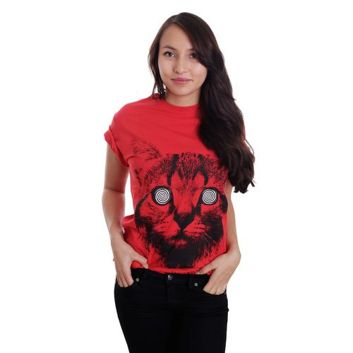 We Butter The Bread With Butter - Katze Red - - T-Shirts