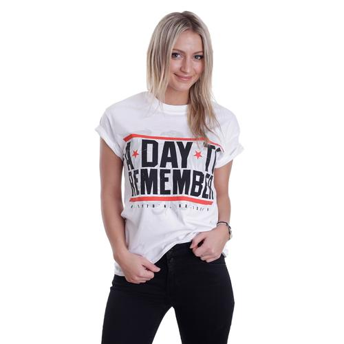 A Day To Remember - Hardcore White - - T-Shirts