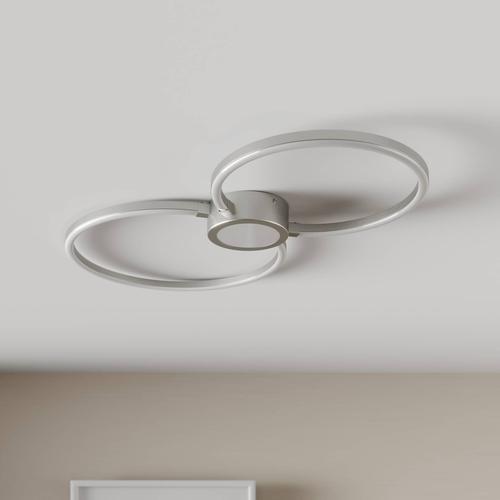 LED-Deckenleuchte Duetto, Kreise
