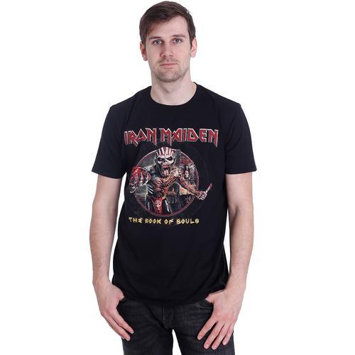 Iron Maiden - Book Of Souls Eddie Circle - - T-Shirts