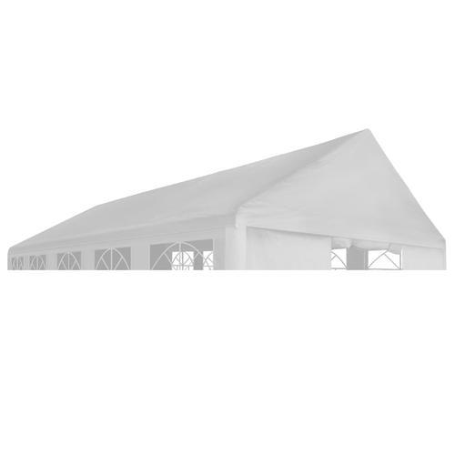 vidaXL Partyzeltdach 3 x 4 m Weiß