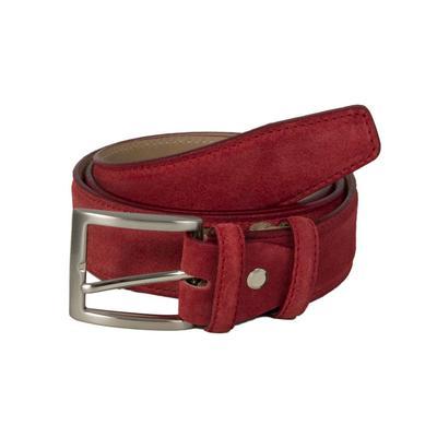 Tretorn - Trento Leather Belt - Light Brown / Medium (30-35'' or 84-92cm) - Brown/Leather /Purple