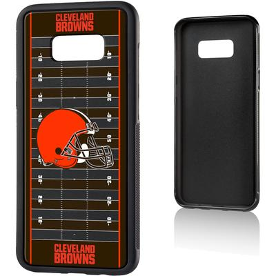 Cleveland Browns Galaxy Bump Case with Field Design