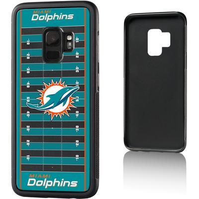 Miami Dolphins Galaxy Bump Case with Field Design