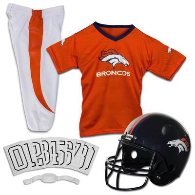 Youth Denver Broncos Franklin Sports Deluxe Uniform Set