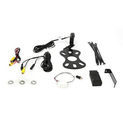 Brandmotion 9002-8847 Jeep Wrangler Adjustable Rear Vision System for Factory Display Radios 2007-Cu