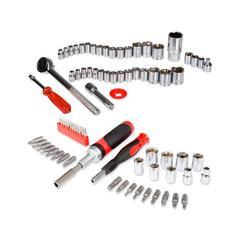 Stalwart Tool Sets - Ratchet & Socket Set