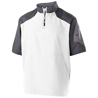 Men's Raider Pullover S/S Holloway Sportswear XL Carbon Print/White
