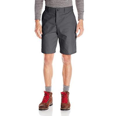 Red Kap Men's Plain Front Short, Charcoal, 40x10