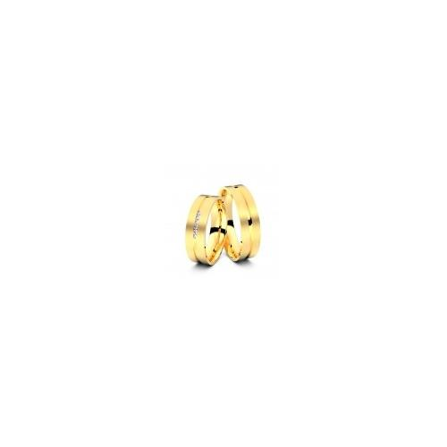 Trauringe Oberhausen 585er Gelbgold - 6650