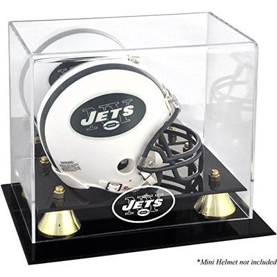 Mounted Memories New York Jets Mini Helmet Display Case