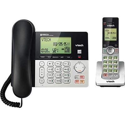 VTECS6949 - VTECH VTCS6949 Corded Cordless 2-Handset Telephone System with Dual Caller ID