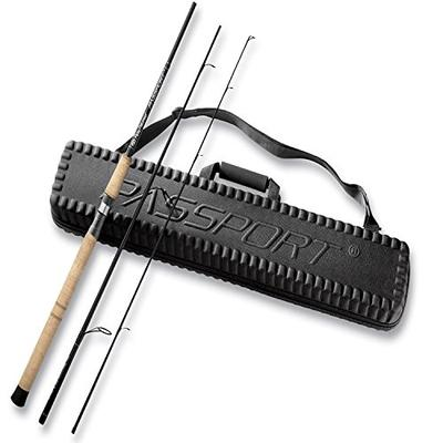 Flying Fisherman Passport Travel Spinning Rod with Case, 10-17 lbs, 3-Piece