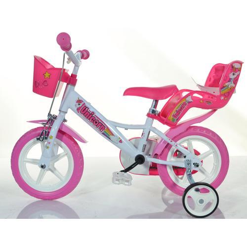 Dino Kinderfahrrad EINHORN, 1 Gang weiß Kinder Kinderfahrräder Fahrräder Zubehör