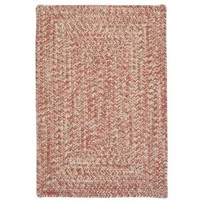 Corsica Rectangle Area Rug, 2 by 10-Feet, Porcelain Rose