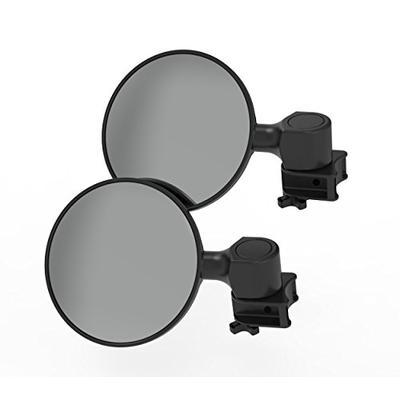 "Scosche PSM21008 Clamp 5"" Round Convex Mirror Base Pair for ATV's UTV's x Sides"