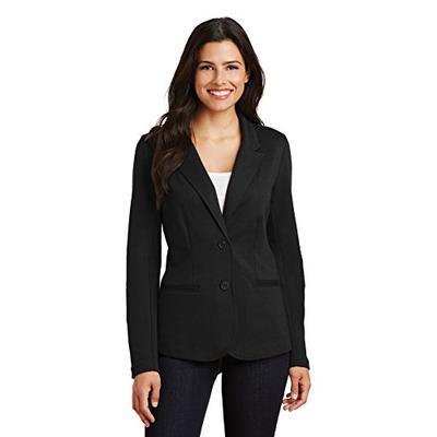 Port Authority Women's Knit Blazer LM2000 Black 3XL