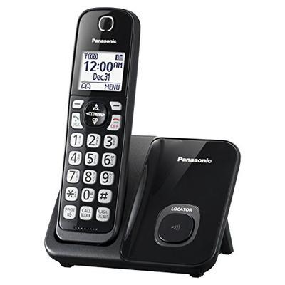 Panasonic KX-TGD510B Expandable Cordless Phone with Call Block - 1 Handset