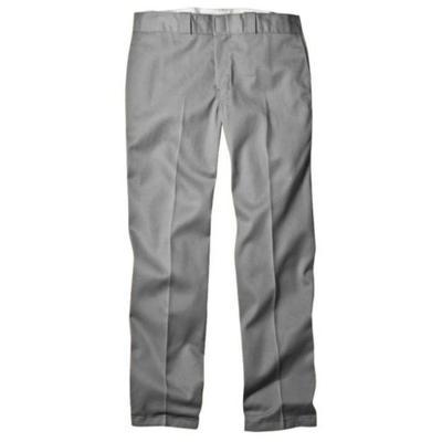 Dickies Men's Original 874 Work Pant, Silver Gray 38W x 34L